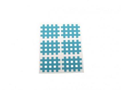 Gitter Akupunkturpflaster Form: Gitter 30 St. Blau 28x36mm