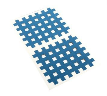 Gitter Akupunktur Tape Akkupunkturtape blau 20 St. 4,4 x 5,2cm
