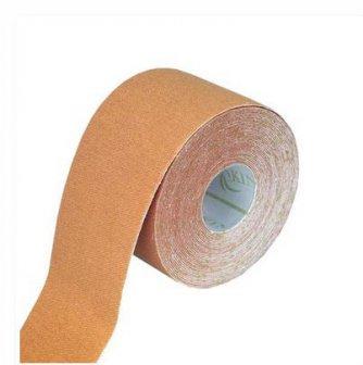 Physiotape haut/flesh, Kinesiologie Sporttape 5.5 mtr x 5 cm