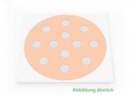 Weltneuheit: Akupunkturpflaster Form: rund gross Haut