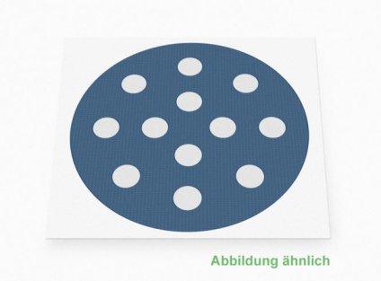 Weltneuheit: Akupunkturpflaster Form: rund gross Blau