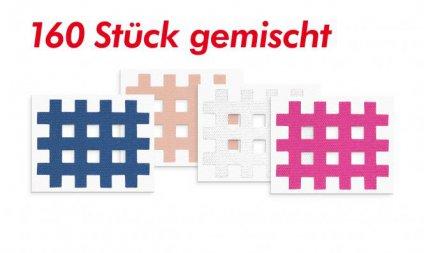 Akupunkturpflaster Form: Gitter 160 St. Gemischt 2,1 x 2,7cm