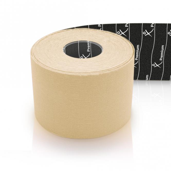 Physiotape PREMIUM Kinesiology Tape 5mx5cm elfenbein 40 % dicker